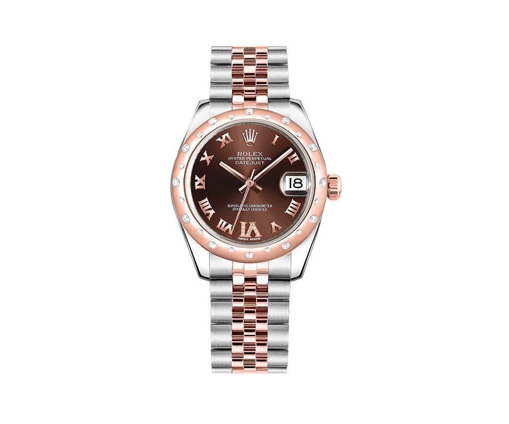 Rolex LADY Datejust 31 Chocolate Dial Women Watch 178341-CHODRO