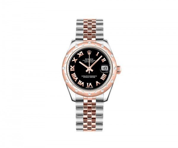 Rolex LADY Datejust 31 mm Luxury Womens Watch 178341-BLKRJ