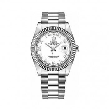 Rolex Day-Date II 218239-whtrp White Gold Mens Luxury Watch @majordor #majordor