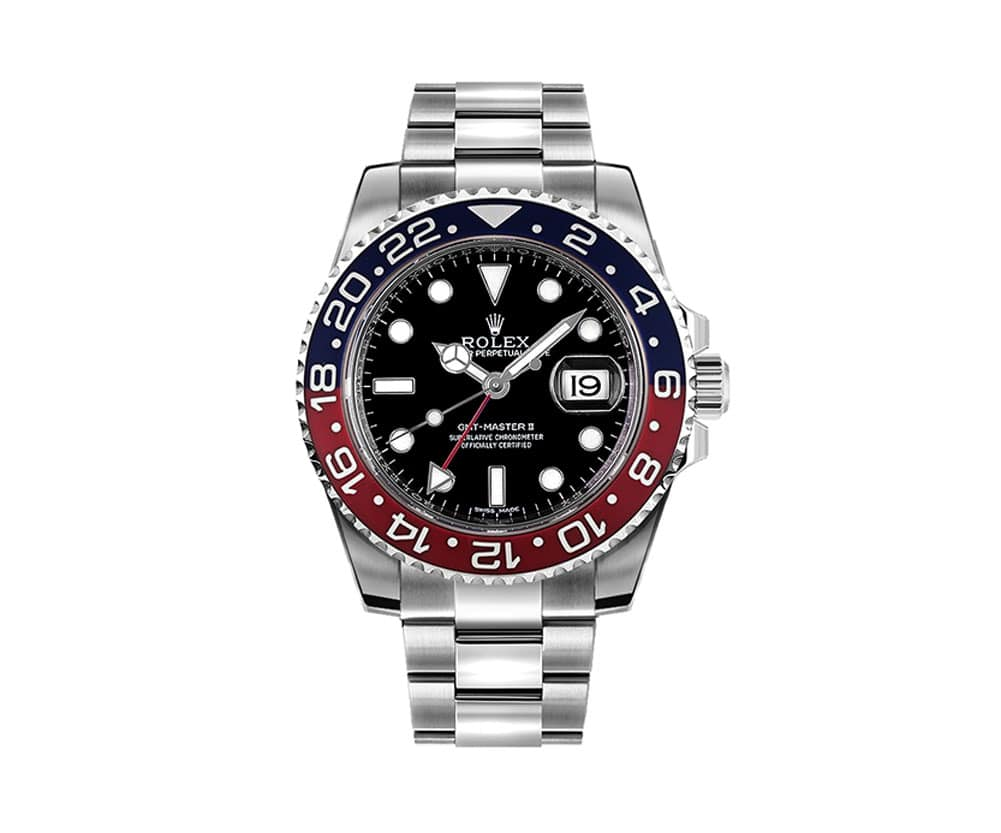 116719BLRO Rolex GMT-Master II Oyster Professional Mens Watch