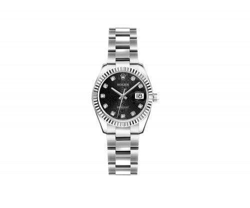 Rolex Lady Datejust 179174-BLKJDO 26mm Luxury Womens Watch