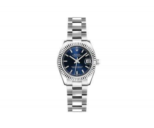 Rolex Lady Datejust 179174-BLUSO 26mm Luxury Womens Watch
