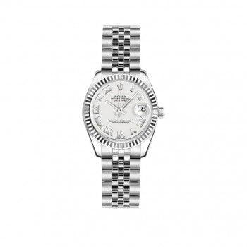 Rolex Lady-Datejust 179174-WHTRJ 26mm Women Luxury Watch