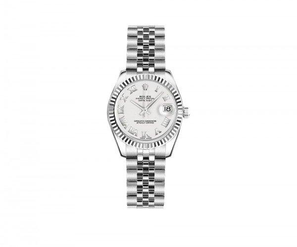 Rolex Lady-Datejust 26mm Women Luxury Watch 179174-WHTRJ