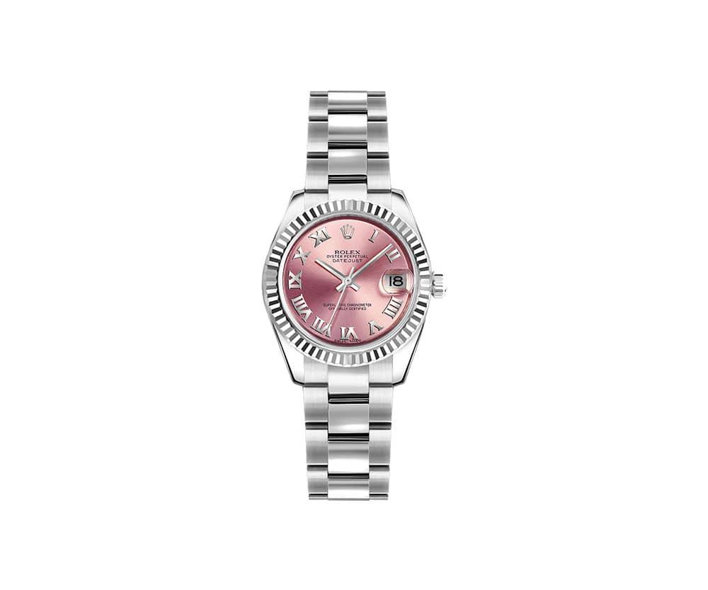 Rolex Lady Datejust 179174-PNKRO 26mm Luxury Womens Watch