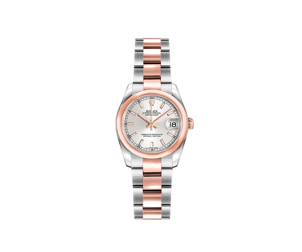 Rolex Lady Datejust 179161-SLVSO 26mm Luxury Womens Watch