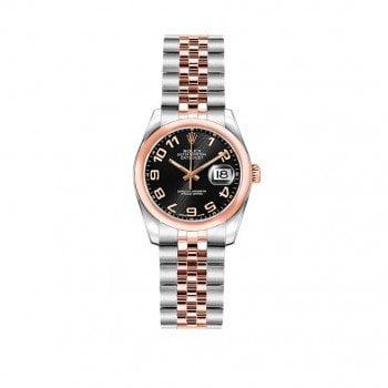 Rolex Lady Datejust 26mm Luxury Womens Watch 179161-BLKCAJ