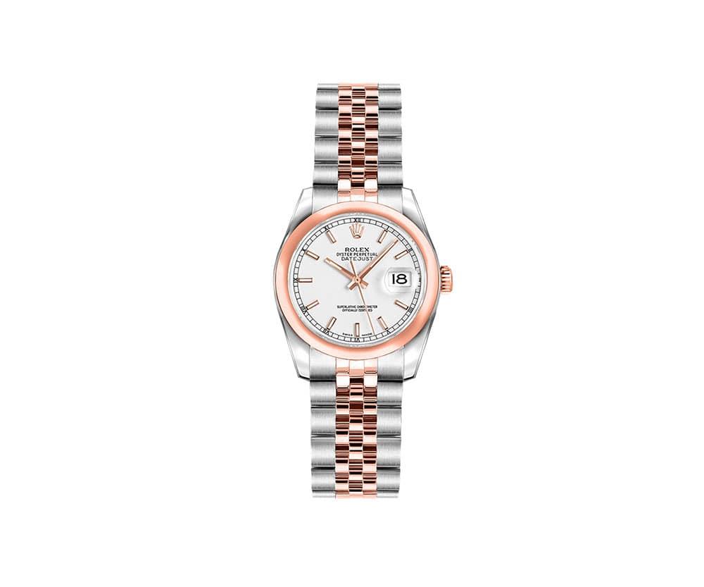 Rolex Lady 179161-WHTSJ Datejust 26mm Luxury Womens Watch @majordor #majordor