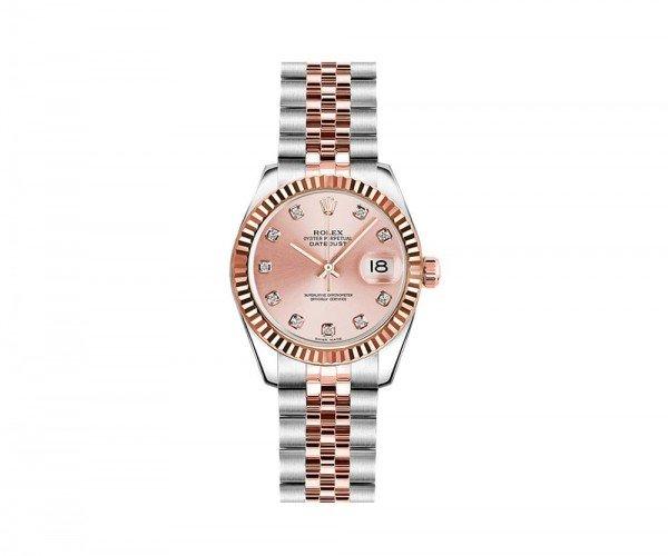 Rolex Lady-Datejust 26 Womens Luxury Watch 179171-PCHDJ