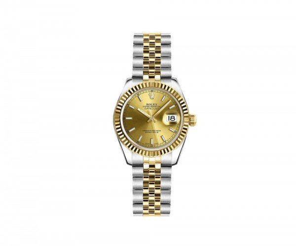 Rolex Lady Datejust 26mm Luxury Womens Watch 179173-CHPSJ
