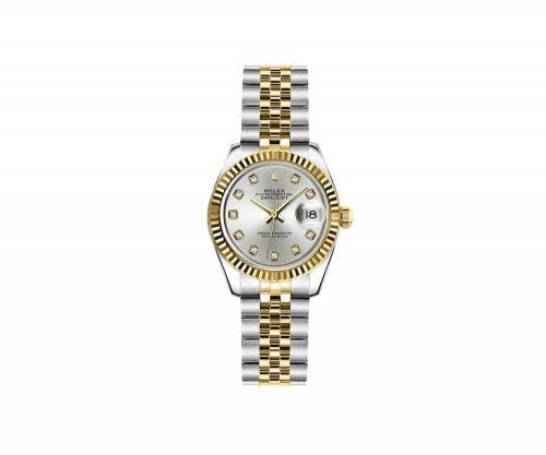 Rolex Lady Datejust 179173-SLVDJ 26mm Luxury Womens Watch