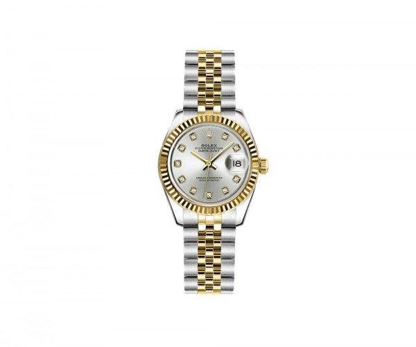 Rolex Lady Datejust 26mm Luxury Womens Watch 179173-SLVDJ