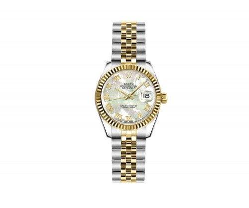 Rolex Lady-Datejust 179173-MOPRJ 26mm Womens Luxury Watch