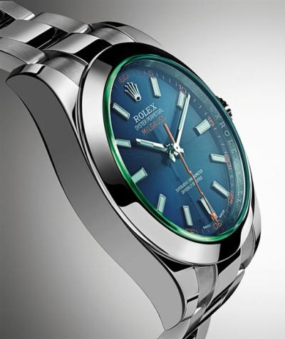 Rolex Milgauss 116400GV,0002 Z,Blue Dial Watch