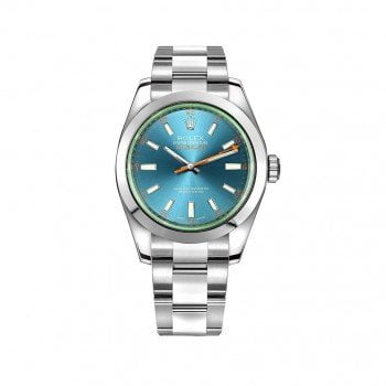 Rolex Milgauss 116400GV-0002 Z-Blue Dial Watch