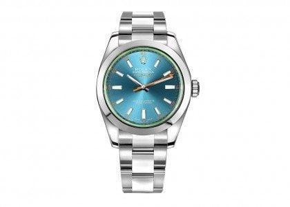 New Rolex Milgauss Mens Luxury Watches 116400GV-BLUSO