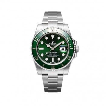 Rolex Submariner m116610lv-0002 Date Green Dial Watch