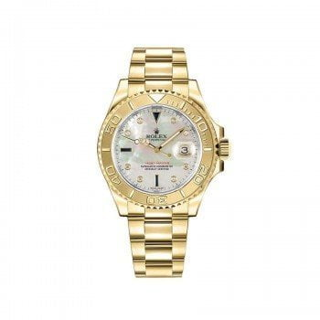 Rolex Yacht Master 35 Womens Luxury Watch 168628