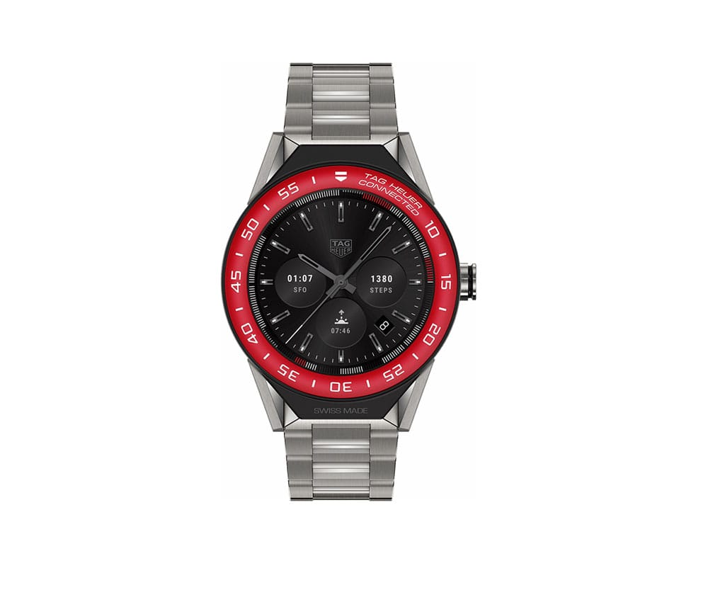 TAG Heuer SBF8A8015.10BF0608 Connected Modular 45mm Watch
