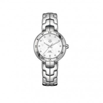 New Tag Heuer Link Automatic Ladies Luxury Watch WAT1312-BA0956
