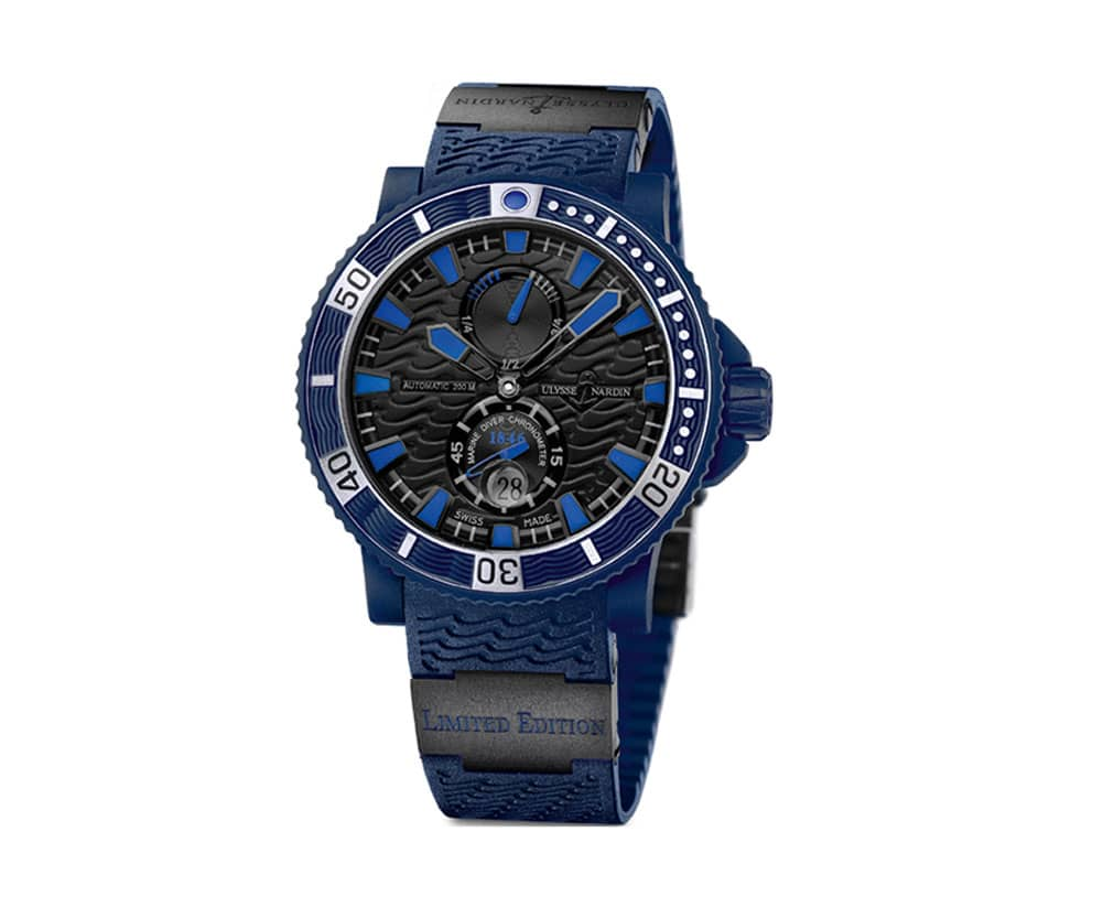 Ulysse Nardin Marine Blue Sea Chronometer Limited Edition 263-97LE-3C