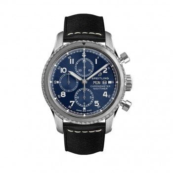 Breitling Navitimer 8 A13314101C1X1 Chronograph 43 Mens Watch front view @majordor