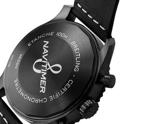 Breitling Navitimer 8 M13314101B1X1 Chronograph 43 Mens Watch case back view @majordor