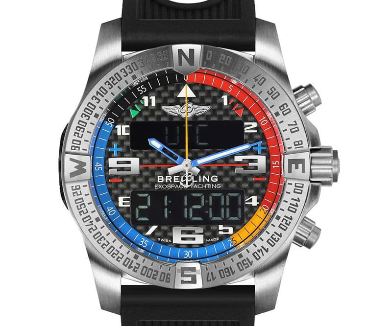 Breitling EXOSPACE eb551222-bg45-201s B55 Yachting Watch