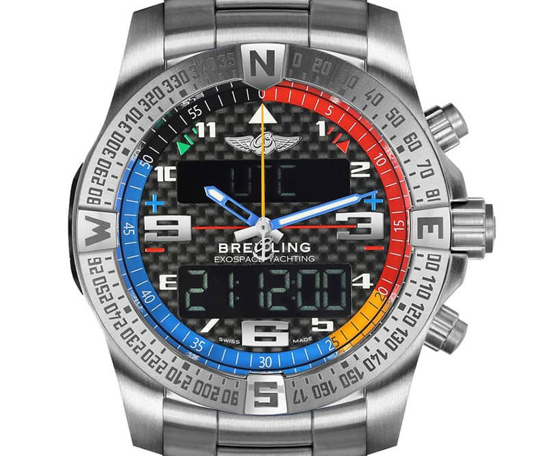 Breitling Exospace eb551222-bg45-181e B55 Yachting Watch