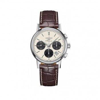 Longines Heritage Column-Wheel Chronograph Mens L2.733.4.02.2