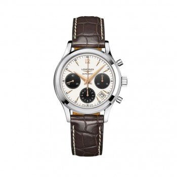 Longines Heritage Column-Wheel Chronograph Mens L27424022