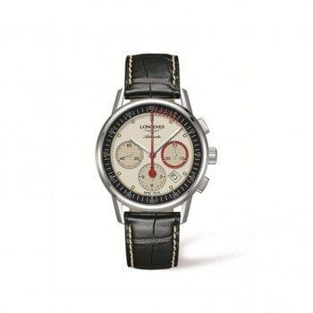 Longines Heritage Column-Wheel Chronograph Mens L4.754.4.72.4