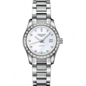 Longines Conquest Automatic Ladies Luxury Watch L22850876