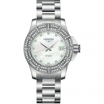 Longines Conquest Automatic Ladies Luxury Watch L31800876