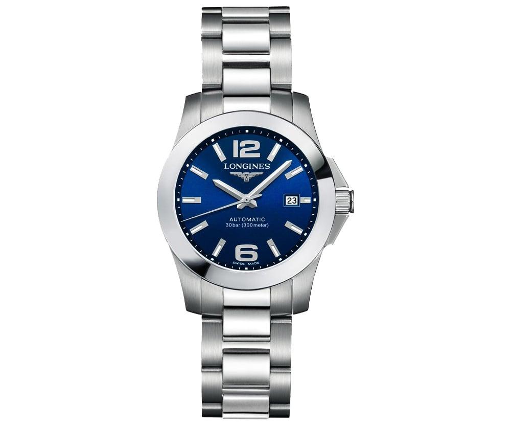 7f39d58289a Longines Conquest Automatic Ladies Luxury Watch L32764996   MajordÓr