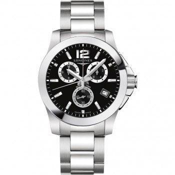 Longines Conquest Quartz Chronograph 41mm Watch L36604566