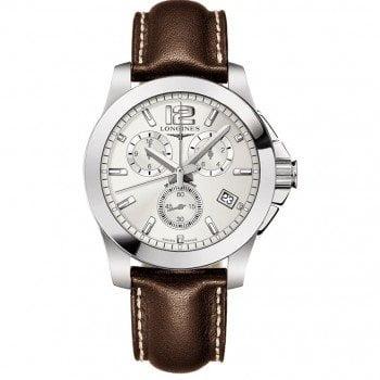 Longines Conquest Quartz Chronograph 41mm Watch L36604764