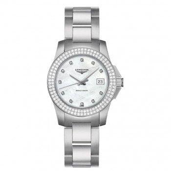 Longines Conquest Quartz Ladies Luxury Watch L32580876