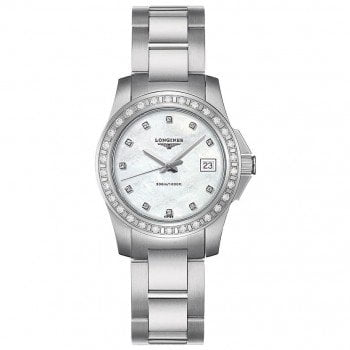Longines Conquest Quartz Ladies Luxury Watch L32580886