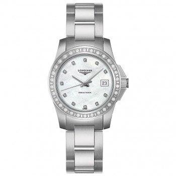 Longines Conquest Quartz Ladies Luxury Watch L32580886