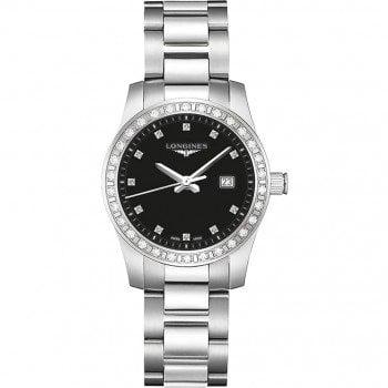 Longines Conquest Quartz Ladies Luxury Watch L33000576