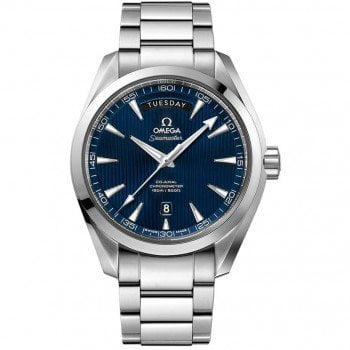Omega Aqua Terra 150m Co-Axial Day Date Mens Watch 231.10.42.22.03.001