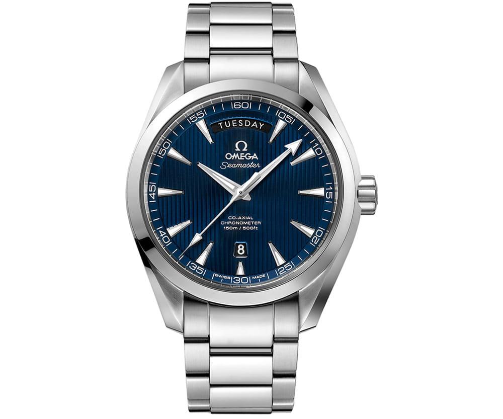 Omega Aqua Terra 231.10.42.22.03.001 Seamaster Day Date 41.5 mm caliber 8602 mens watch @majordor @majordor