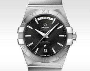 OMEGA CONSTELLATION DAY-DATE CO-AXIAL AUTOMATIC 38 mm MENS COLLECTION @majordor