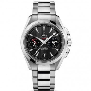 Omega Aqua Terra 150m Co-Axial GMT Chronograph 43mm Mens Watch 231.10.43.52.06.001