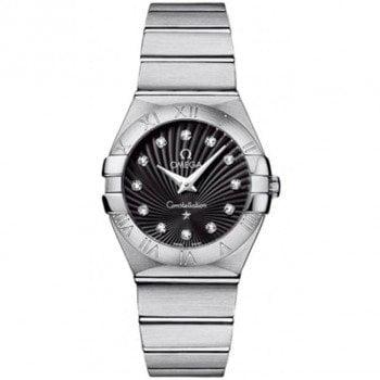 Omega Constellation 123.10.27.60.51.001 Quartz 27mm Ladies Watch front view