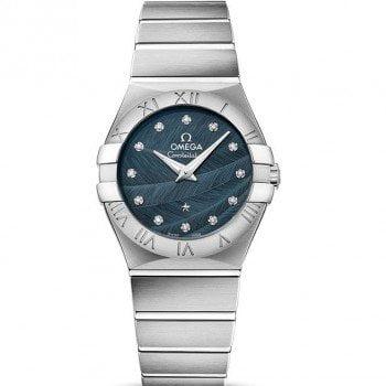 Omega Constellation 123.10.27.60.53.001 Quartz 27mm Ladies Watch front side