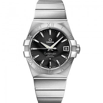 Omega Constellation 123.10.38.21.01.001 Automatic 38 mm Mens Watch front view