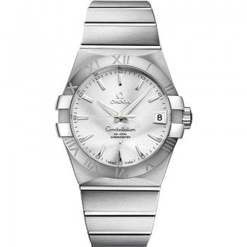 Omega Constellation 123.10.38.21.02.001 Automatic 38 mm Mens Watch front view