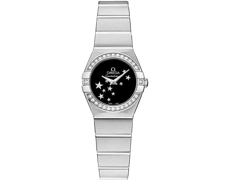 Omega Constellation 123.15.24.60.01.001 Quartz 24 mm Ladies Watch front view